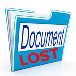 documents lost Ads
